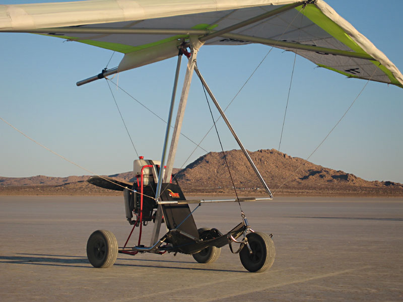 Trikebuggy Delta Powered Hang Glider Ultralight Trike