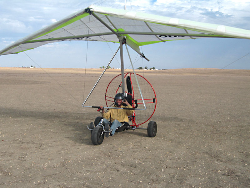 TrikeBuggy Delta, Powered Hang Glider Ultralight Trike