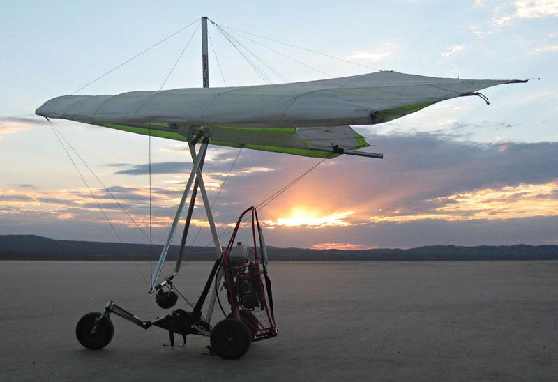 TrikeBuggy Delta, Powered Hang Glider Ultralight Trike, Delta Trike