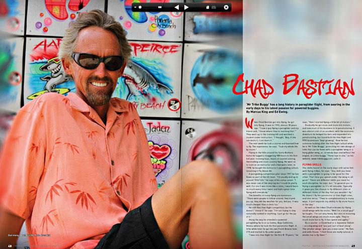 Chad Bastian Profile PPG Magazine