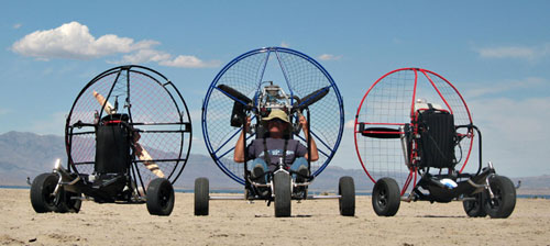 TrikeBuggy, Powered Paragliding Trike, PPG Trike