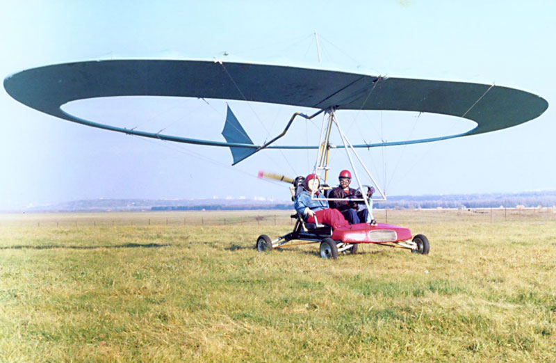 homebuilt hang glider plans